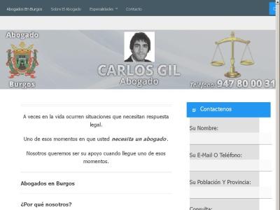 abogado en burgos Carlos Gil