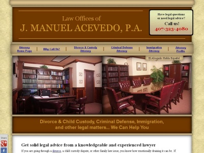 Abogado J. Manuel Acevedo