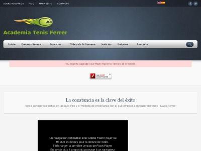 Academia Tenis - Escuela Tenis - Ferrer