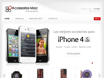 Accesorios para iphone, ipad y port�tiles Apple