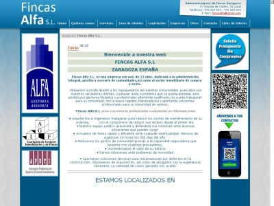 Administrador de fincas Alfa: Zaragoza