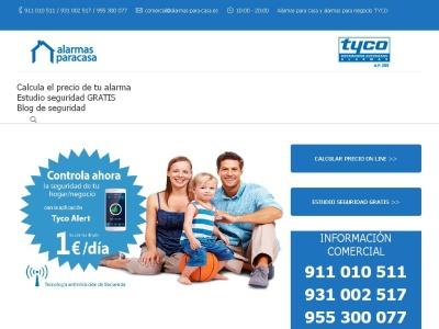Alarma Tyco ADT alarmas de seguridad para hogar