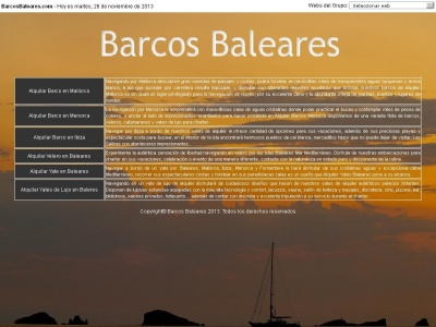 Alquiler Barcos Baleares