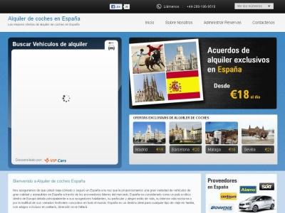 Alquiler de coches España