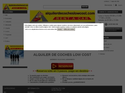 Alquiler de Coches Low Cost