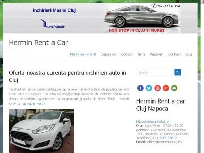 Alquiler de coches Transilvania