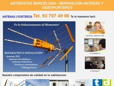 Antenistas barcelona