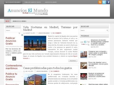 Anuncios el Mundo blog