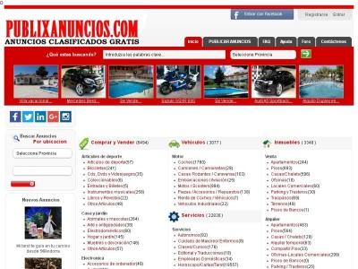 Anuncios Gratis | PUBLIXANUNCIOS.COM | Anuncios Clasificados Gratis