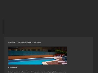 Apartamento Alquiler Ibiza