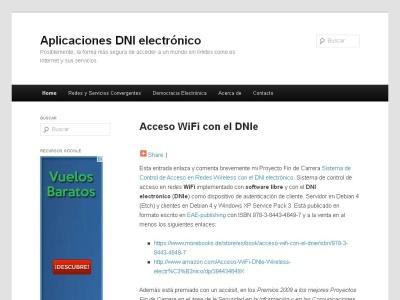 Aplicaciones DNI electr�nico