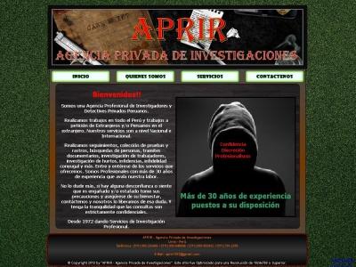 APRIR Detectives Privados en Peru