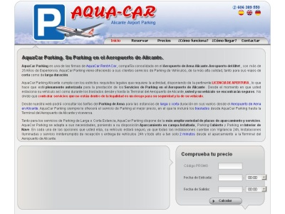 AQUA-CAR Servicio Parking Aeropuerto Alicante