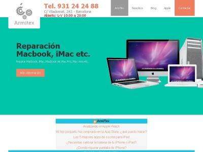 ArmiTex servicio tecnico especializado apple