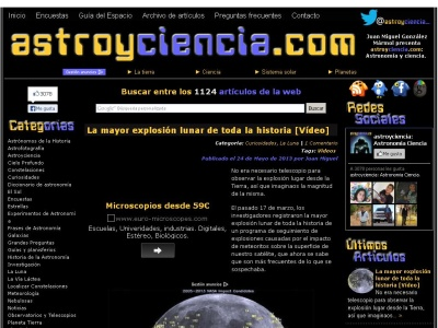astroyciencia: Asrtronom�a y ciencia