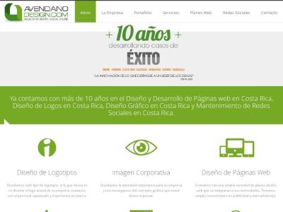 Avendano Design es una Agencia de Diseño de Páginas Web y Diseño G