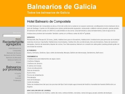 Balnearios Galicia