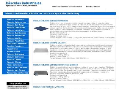 basculas industriales