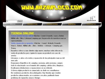 BAZARLOCO Tienda on line  maquinaria limpieza, accesorios camping, calefacción
