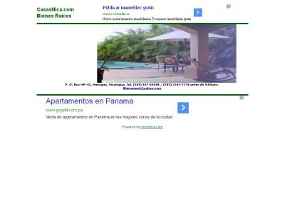 Bienes Raices en Nicaragua - www.casasnica.com