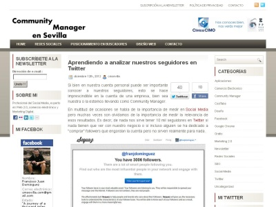 Blog de un Community Manager en Sevilla