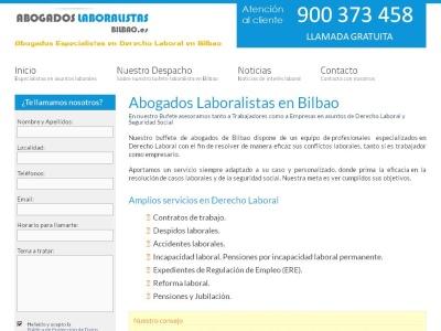 Bufete Laboralista en Bilbao