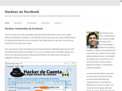 Cómo hackear contrase?as de Facebook