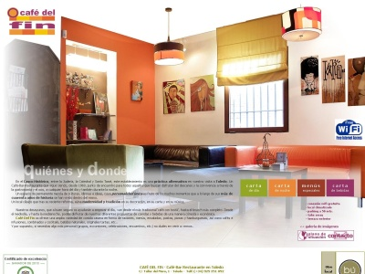 Caf� Del Fin ? Caf�-Bar Restaurante en Toledo