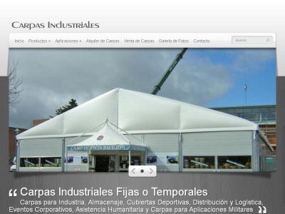 carpas industriales