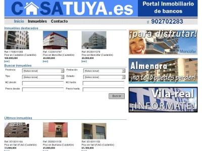 Casatuya: portal inmobiliario de bancos