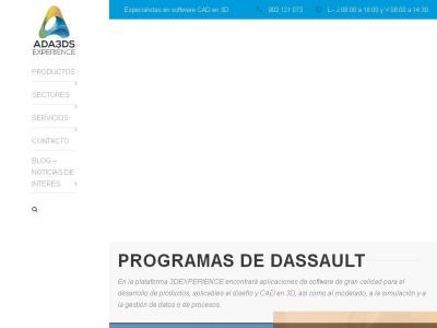 CATIA v5 & v6 | ADA3ds, distribuidor de Dassault