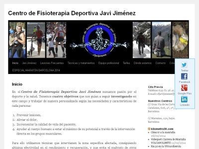 Centro de Fisioterapia Deportiva Javi Jim�nez