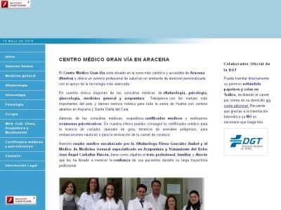 Centro de reconocimientos m�dicos en Aracena