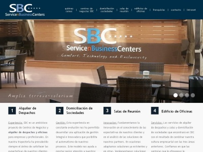 Centros de Negocios SBC. Servicen Business Center