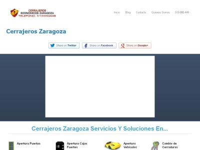 Cerrajeros Economicos Zaragoza