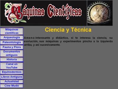 Ciencia y T�cnica