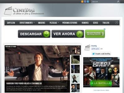 Cinedig - Noticias de Cine y Televisi�n