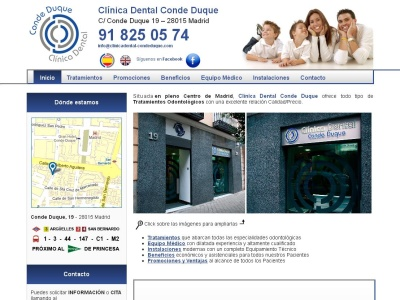 Clínica dental Madrid Centro: Implante y Odontología general