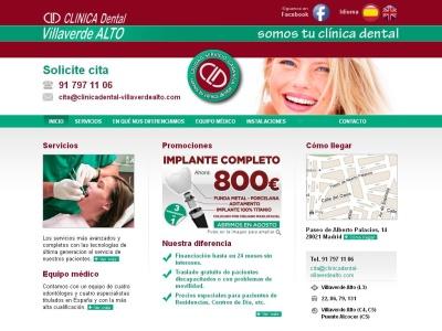 Clínica Dental Villaverde Alto, zona sur de Madrid