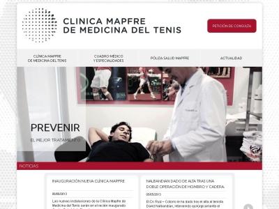 Cl�nica Mapfre de Medicina del Tenis