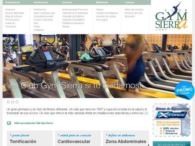 club gym sierra un gimnasio excelente en C�rdoba