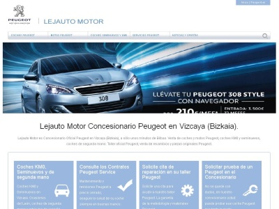 Coches KM0 en Vizcaya, Peugeot