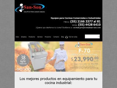 Cocinas Industriales San-Son