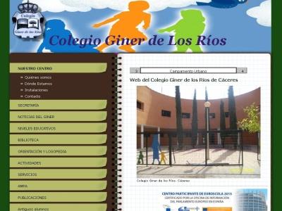 Colegio Giner de los Ríos de Cáceres (Espa?a)