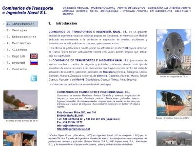 Comisarios de Transporte e Ingenier�a Naval S.L.