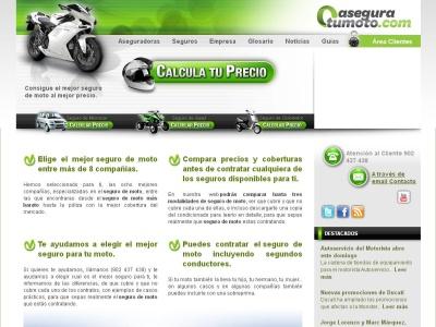 Comparativa seguros de ciclotomotor aseguratumoto