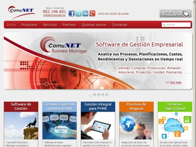 Comunet Business Manager