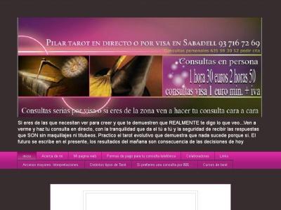 Consulas en Sabadell tarot y videncia con Pilar 93 716 72 69 presenciales o visa