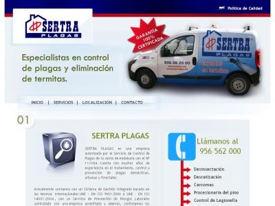 Control y exinci�n de plagas-Sertra-C�diz