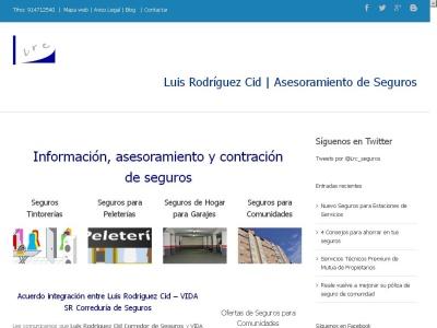 Corredor de Seguros - Luis Rodriguez Cid